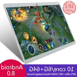 """10.1"""" 6+64G HD Game Tablet Computer PC Ten Core Android 8.0"""