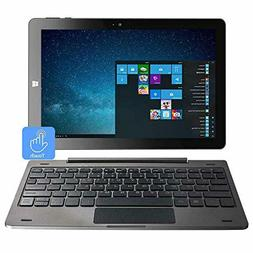 10.1 Inch IPS Mini Touch Screen Windows 2 in 1 Laptop Comput