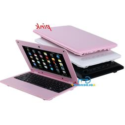 10 inch pink mini laptop netbook android