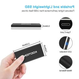 1TB Type C USB 3.1 High Speed External Solid State Hard Driv