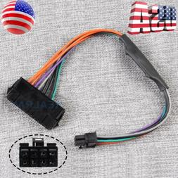 24-Pin to 8-Pin 18AWG ATX Power Supply Adapter Cable for Del