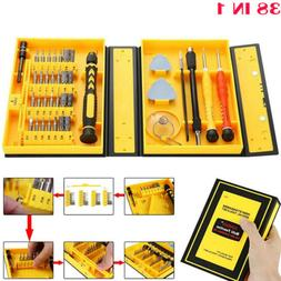 38 IN 1 Precision Screwdriver Tool Kit for Computer Laptop E