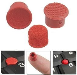 3x TrackPoint Red Cap Pointer / Laptop Keyboard Mouse Stick