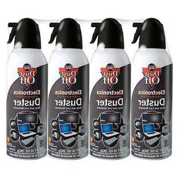 4 pk Falcon Compressed Air Gas Duster Cans Computer Dust Off