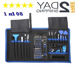 80 In 1 Pro Repair Toolkit Electronics Computer Smartphone T