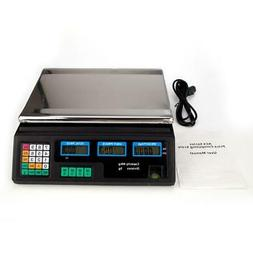 88lb 40kg Digital Postal Scale Computing Produce Electronic