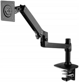 AmazonBasics Premium Single Monitor Stand - Lift Engine Arm