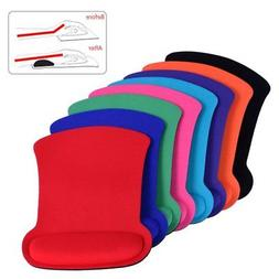 Anti Slip Wrist Mouse Pad with Rest Wrist Comfort Support fo
