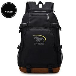 Apache Laptop Computer Backpack Anti Theft Waterproof Canvas