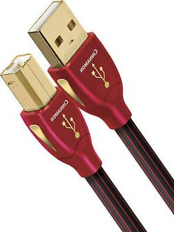 AudioQuest Cinnamon A to B USB Cable - 0.75 Meters