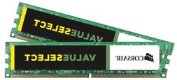 Corsair CMV8GX3M2A1333C9 ValueSelect 8GB  DDR3-1333  1.5V De