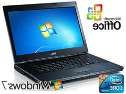 "Dell Latitude E6510 15.6"" Laptop Notebook Windows 7 Pro Core"