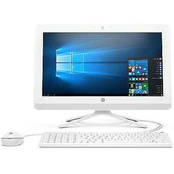 HP 20-inch All-in-One Computer, Intel Celeron J4005, 4GB RAM