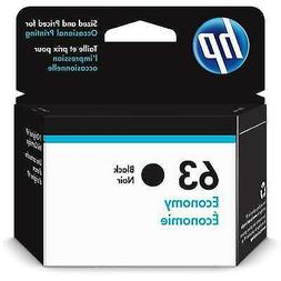 HP 63 Ink Cartridge Black Economy  for HP Deskjet 1112 2130