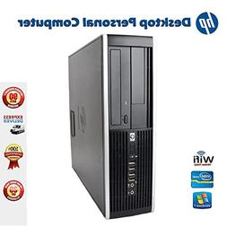 HP Elite 8000 SFF Desktop Complete Computer Package with Int