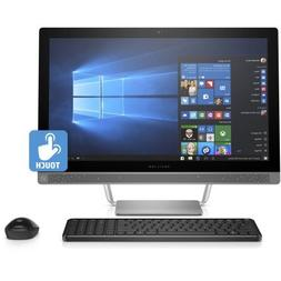 "HP Pavilion 24-b223w 23.8"" All-in-One PC, Intel Core i3-7100"