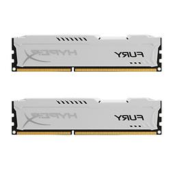 Kingston HyperX FURY 16GB Kit  1866MHz DDR3 CL10 DIMM - Whit