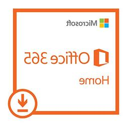Microsoft Office 365 Home | 1-year subscription, 5 users, PC