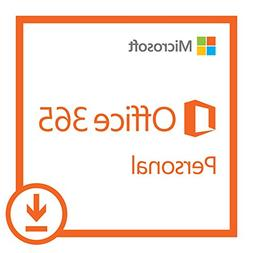 Microsoft Office 365 Personal | 1-year subscription, 1 user,