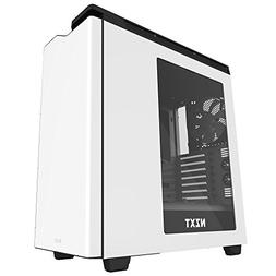 Nzxt H440 Mid Tower Computer Case, White/Black