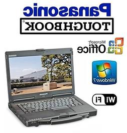 "Refurbished Panasonic CF-53 Toughbook Rugged Laptop - 14"" TO"