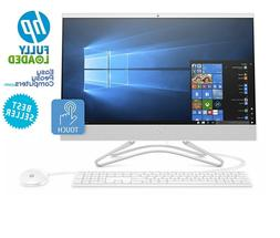 "HP All in One Computer Touchscreen 24"" Windows 10 8GB 1TB WE"