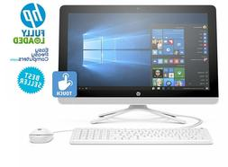 "HP All in One Computer TOUCHSCREEN 24"" Windows 10 8GB 1TB DV"