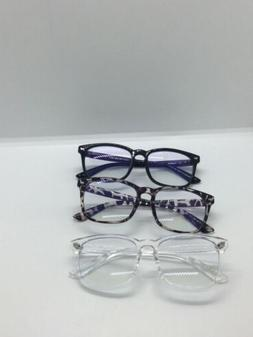 Blue Light Blocking Glasses - 3Pack Computer Game Glasses Sq