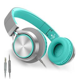 AILIHEN C8 Headphones with Microphone and Volume Control Fol