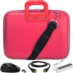 Cady Messenger Cube PINK MAGENTA Ultra Durable Tactical Leat