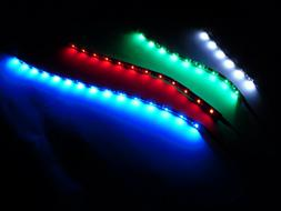 Computer Case LED Strips Self Stick for PC PS 360 Gaming TV