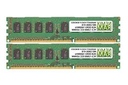 8GB  DDR3-1600MHz PC3-12800 ECC UDIMM 1Rx8 1.5V Unbuffered M
