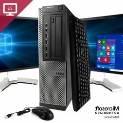 Dell Desktop Computer 16GB 2TB, 512GB SSD Wi-Fi Core i5 Wind