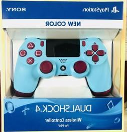 SONY Dualshock 4 Wireless Controller Berry Blue for Playstat