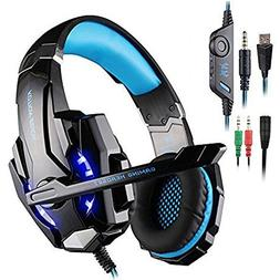 AFUNTA G9000 Stereo Gaming Headset Compatible Mac, PS4, PC,