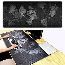 Gaming Mouse Pad Mat Large Jestar World Map Extended XXL 800