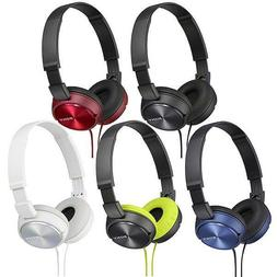 Sony GENUINE Headphones MDR-ZX310AP With Mic and Volume