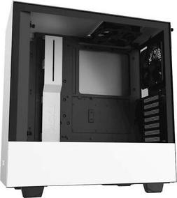 NZXT - H510 Compact ATX Mid-Tower Case with Tempered Glass -