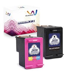 Vividcolor Compatible with HP 63XL 63 Ink Cartridge High Yie
