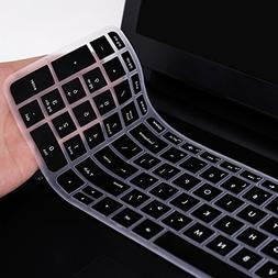For HP Silicon Keyboard Cover Skin New 15.6-Inch HP Pavilion