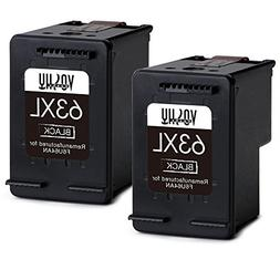 Voshy Remanufactured Ink Cartridge Replacement for HP 63XL