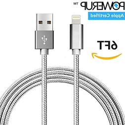 iPhone 8 Charger Cord -  Apple Certified Lightning Cable for