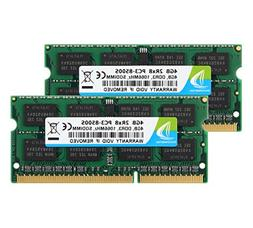 DUOMEIQI 8GB Kit  2RX8 PC3-8500S DDR3 1066MHz SODIMM CL7 204