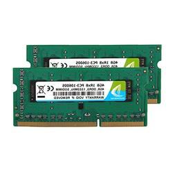 DUOMEIQI 8GB Kit  DDR3 1333MHz Sodimm 1RX8 PC3-10600S 204pin
