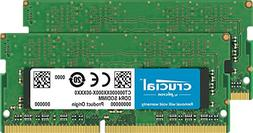 Crucial 32GB Kit  DDR4 2400 MT/s  DR x8 SODIMM 260-Pin for M