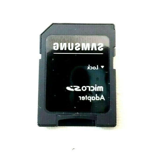 128MB 10 Memory Card With Samsung Adapter Phone/Computer/Tablets