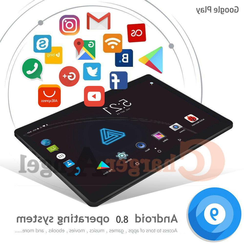 Android 8.0 Ten 10.1 Inch Tablet PC GPS