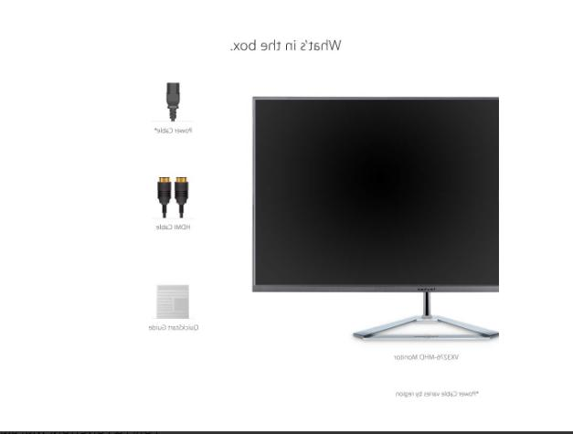 ViewSonic Frameless IPS w/ HDMI and