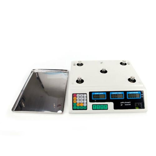 40kg/5g Digital Computing Food Produce Electronic Weight
