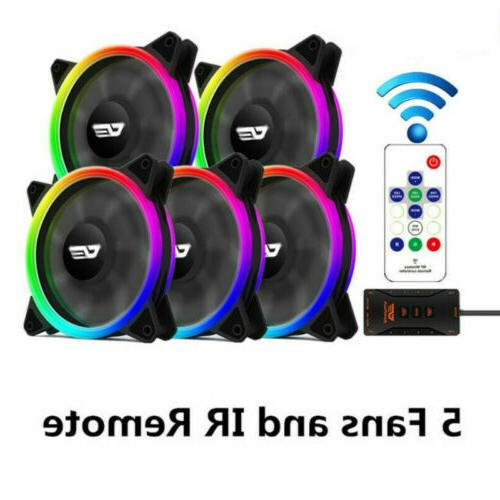 5Pack darkFlash Pro Remote PC Case LED